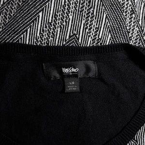 Mossimo Supply Co. Dresses - Long Sleeve Chevron Sweater Dress